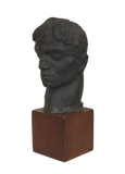 Irma Rothstein Sculpture Signed Original 1960's Wood Base Important Artwork