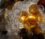 Custom Bubble Glass Chandelier by Nessing Design - New York City
