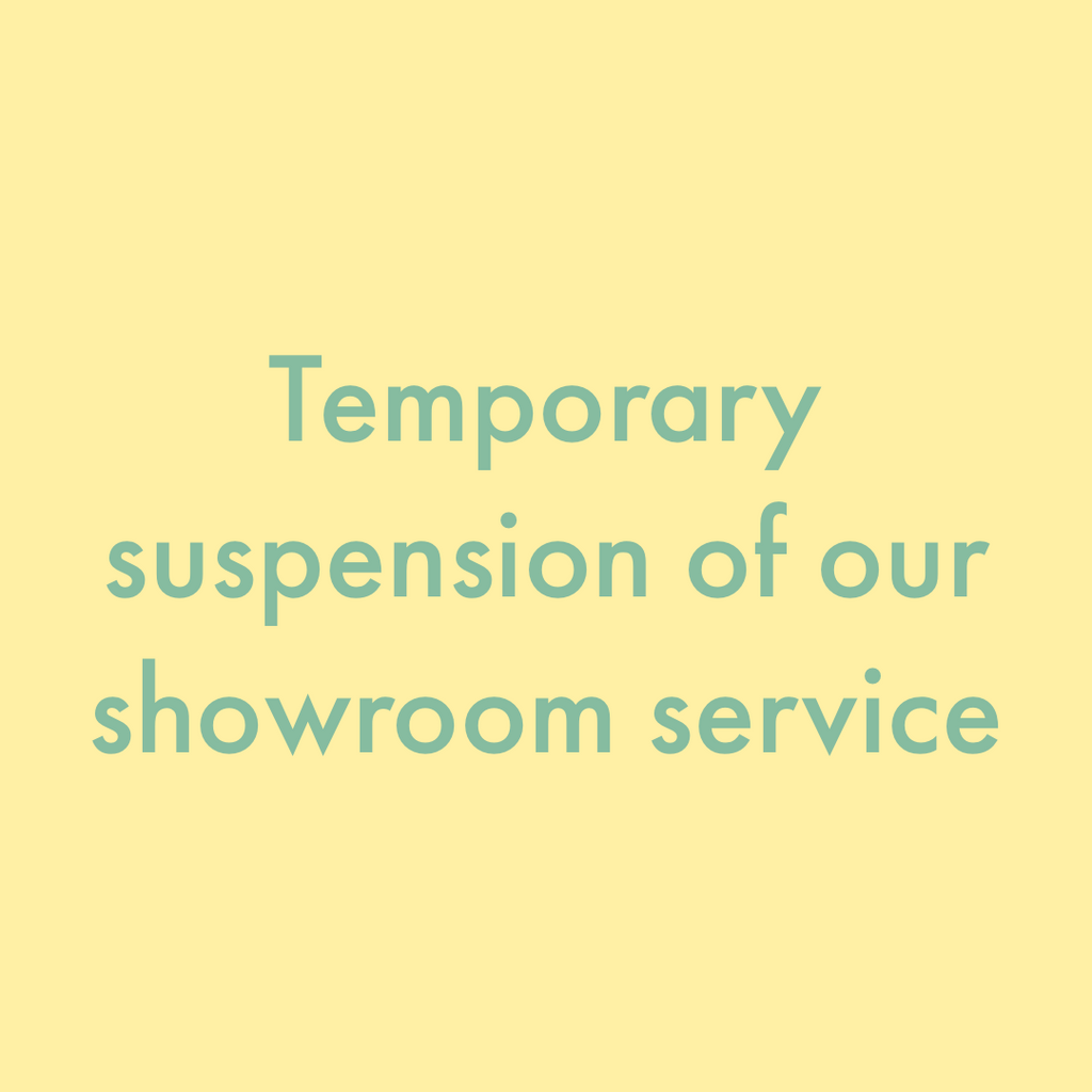 [Service Notification] Suspension of our Hong Kong Showroom