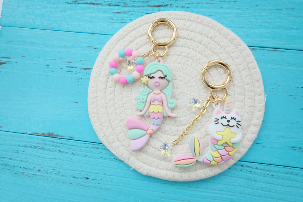 New Summer Happy Charm with Tote Bag Set