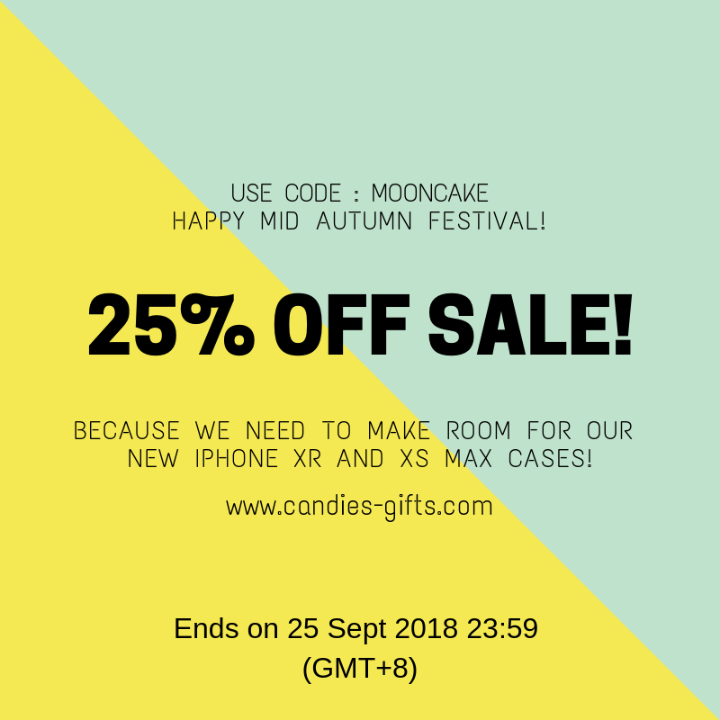 25% OFF SALE NOW ON!