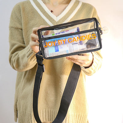 Get our new PVC Crossbody Bag for FREE!