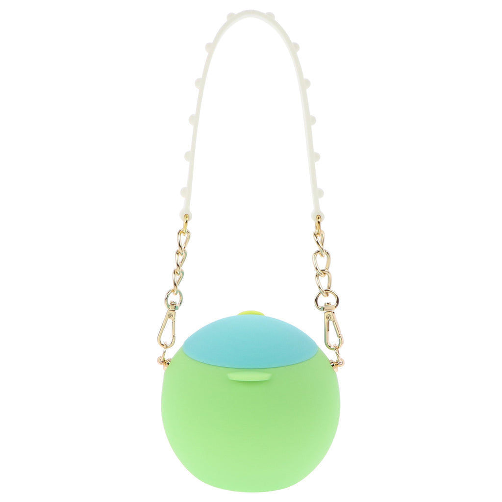 Silicone Bouncy Purse (Blue/Green)