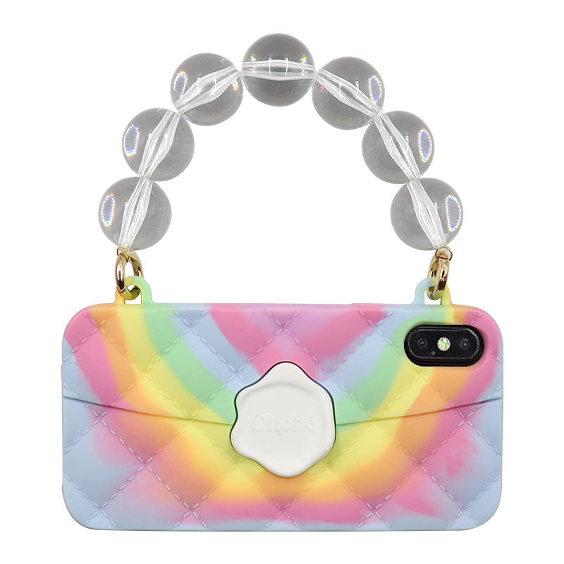 iPhone XS Max Tie Dye Seal Stamped Case