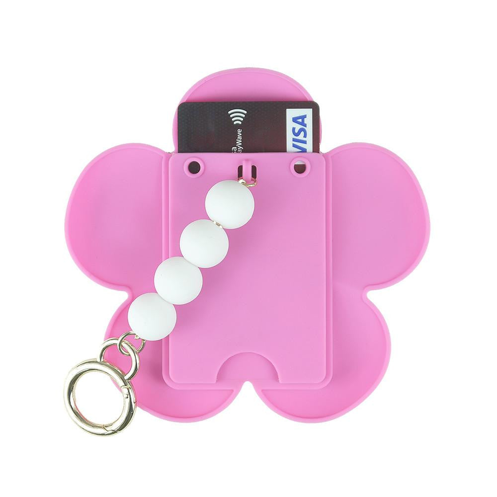 Blossom Happiness Card Case (Silicone Beads Chain)