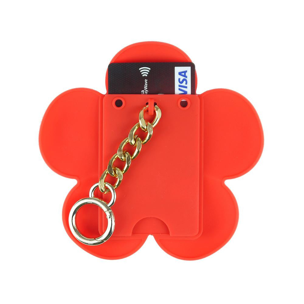Blossom Happiness Card Case (Metal Chain)