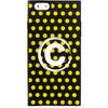 iPhone 6 Plus/6S Plus - Monogram Girly (Yellow Trendy Polka Dots) - Phone Cases - Candies Gifts