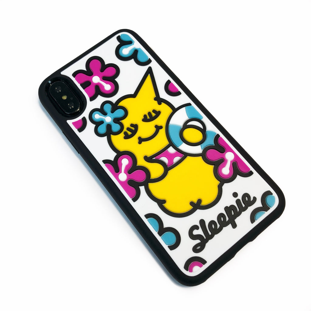 iPhone X/Xs Plastic Case - Summer Sleepie