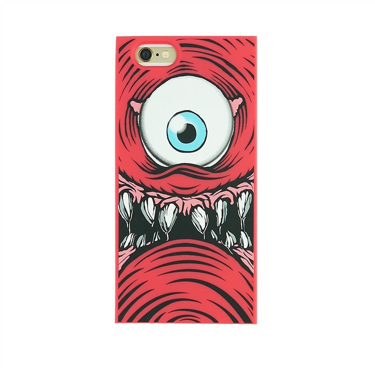 iPhone 6/6s - One-Eyed Monster (Red) - Phone Cases - Candies Gifts
