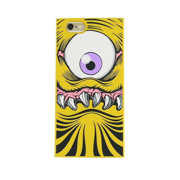 iPhone 6 Plus/6s Plus - One-Eyed Monster (Yellow) - Phone Cases - Candies Gifts