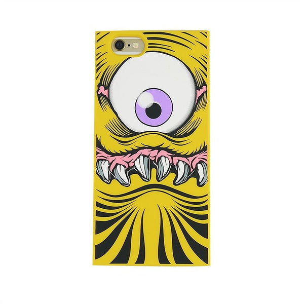 iPhone 6/6s - One-Eyed Monster (Yellow) - Phone Cases - Candies Gifts