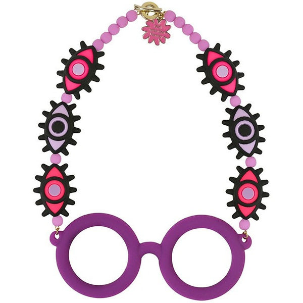 Tribal Glasses Necklace