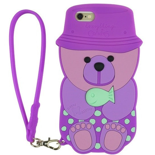 iPhone 6/6S case- Popbob mallow bear (3 colours available) - Phone Cases - Candies Gifts