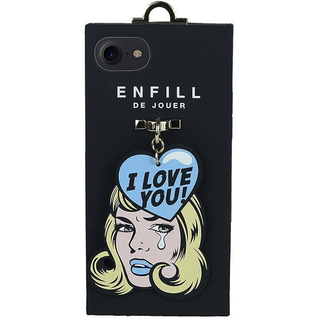 iPhone 7 Handing case - Girl's Talk - I Love You! - Phone Cases - Candies Gifts