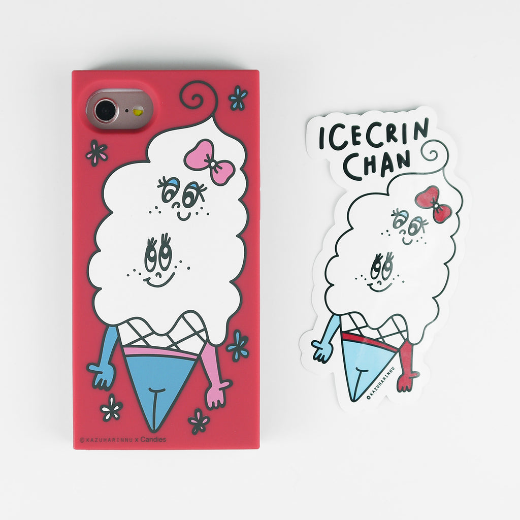 iPhone 7/8 Case - Candies x Kazuharinnu - Icecrin Chan