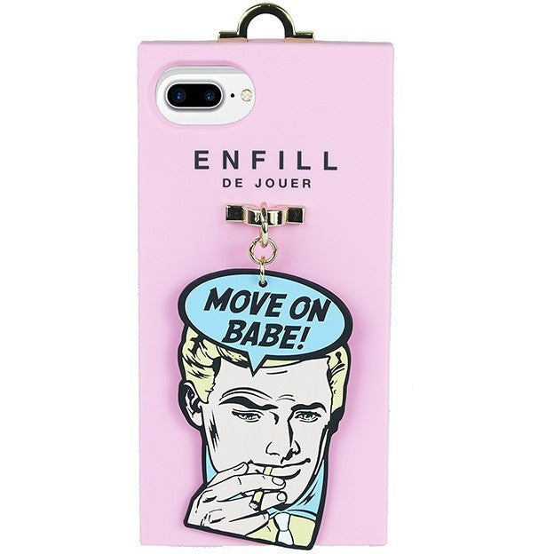 iPhone 7 plus Handing case -  Boy's Talk - Move on Babe! - Phone Cases - Candies Gifts