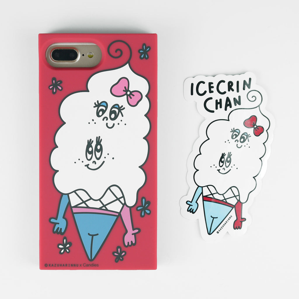 iPhone 7 Plus/8 Plus Case - Candies x Kazuharinnu - Icecrin Chan