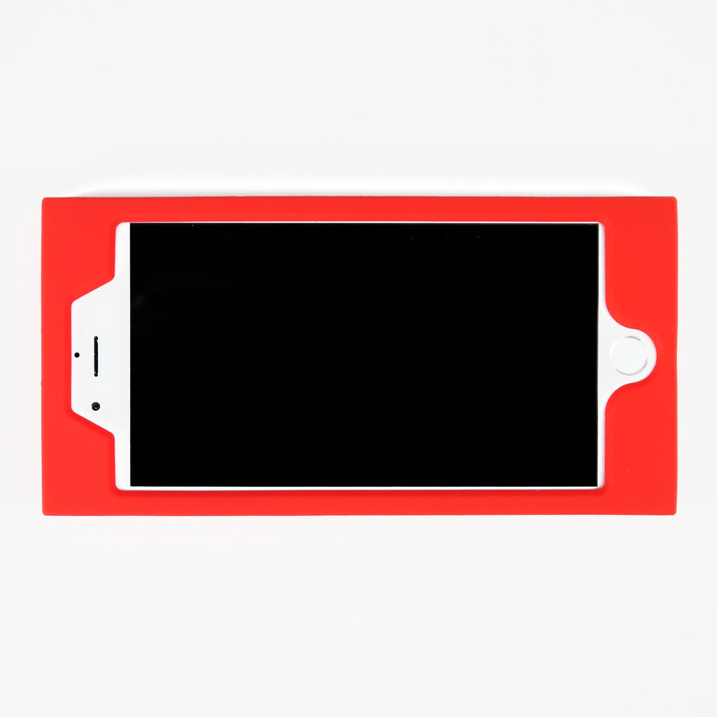 iPhone 7 Plus/8 Plus Simple Case - Nice to Meet You (Red)
