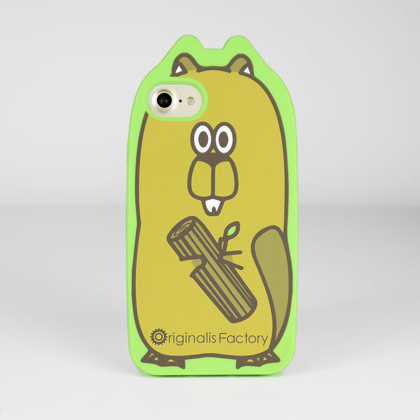 iPhone 7/8 Animal Case - Beaver