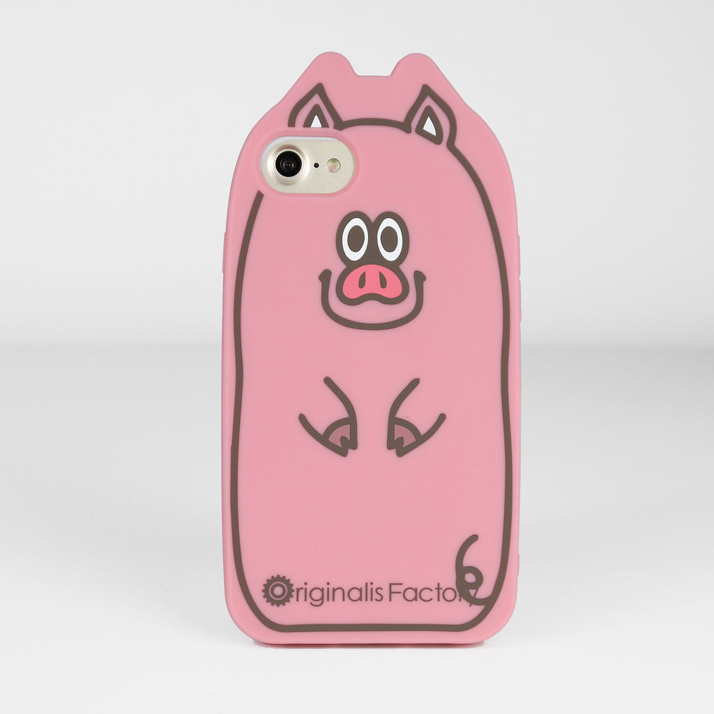 iPhone 7/8 Animal Case - Pig