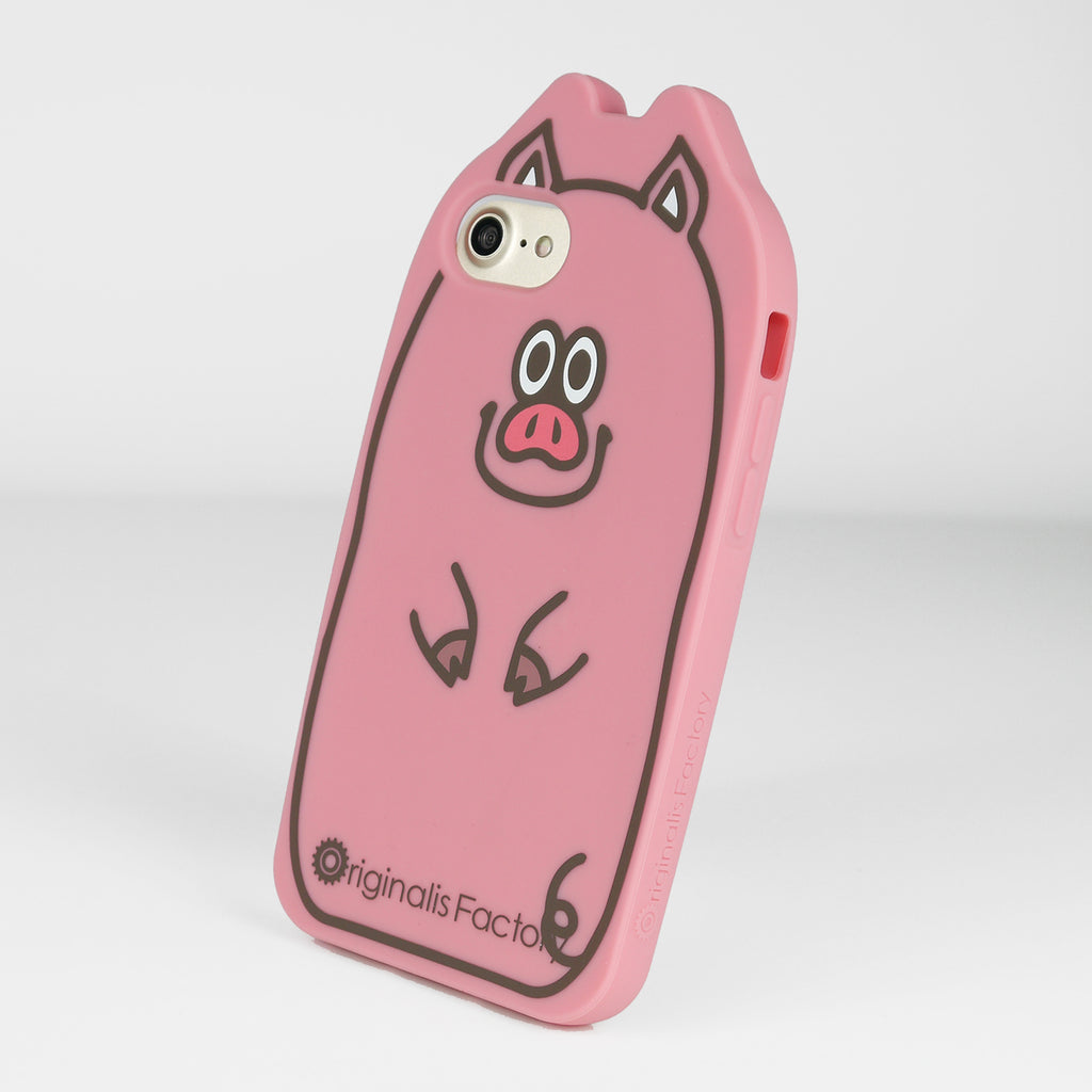 iPhone SE/7/8 Animal Case - Pig