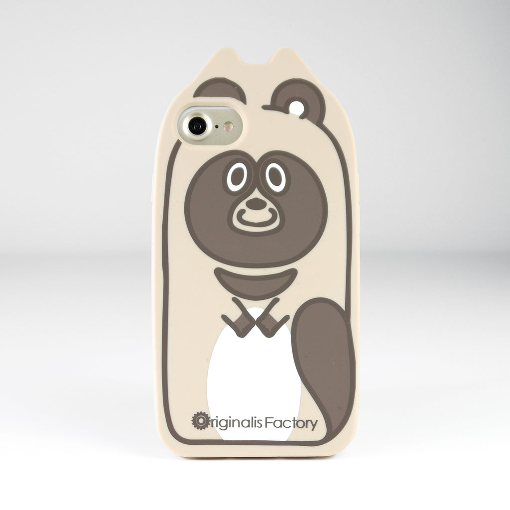 iPhone SE/7/8 Animal Case - Raccoon