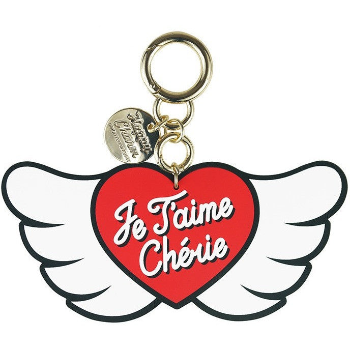 Happy Charm - Angel Heart - Je t'aime Chéri (2 sizes available) - Accessories - Candies Gifts