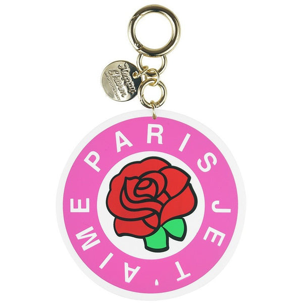 Happy Charm - I Love You Paris - Pink (2 sizes available) - Accessories - Candies Gifts