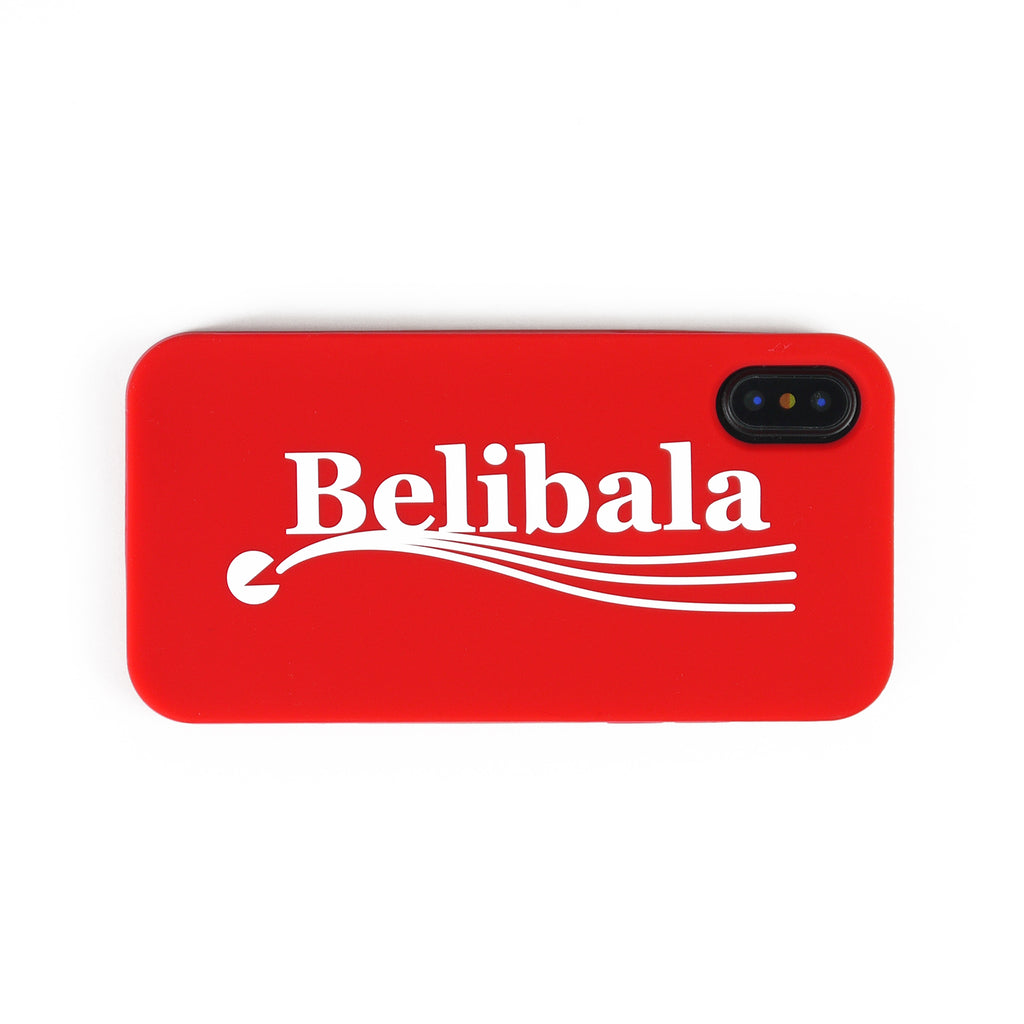 iPhone X/Xs Simple Case - Belibala (Red)