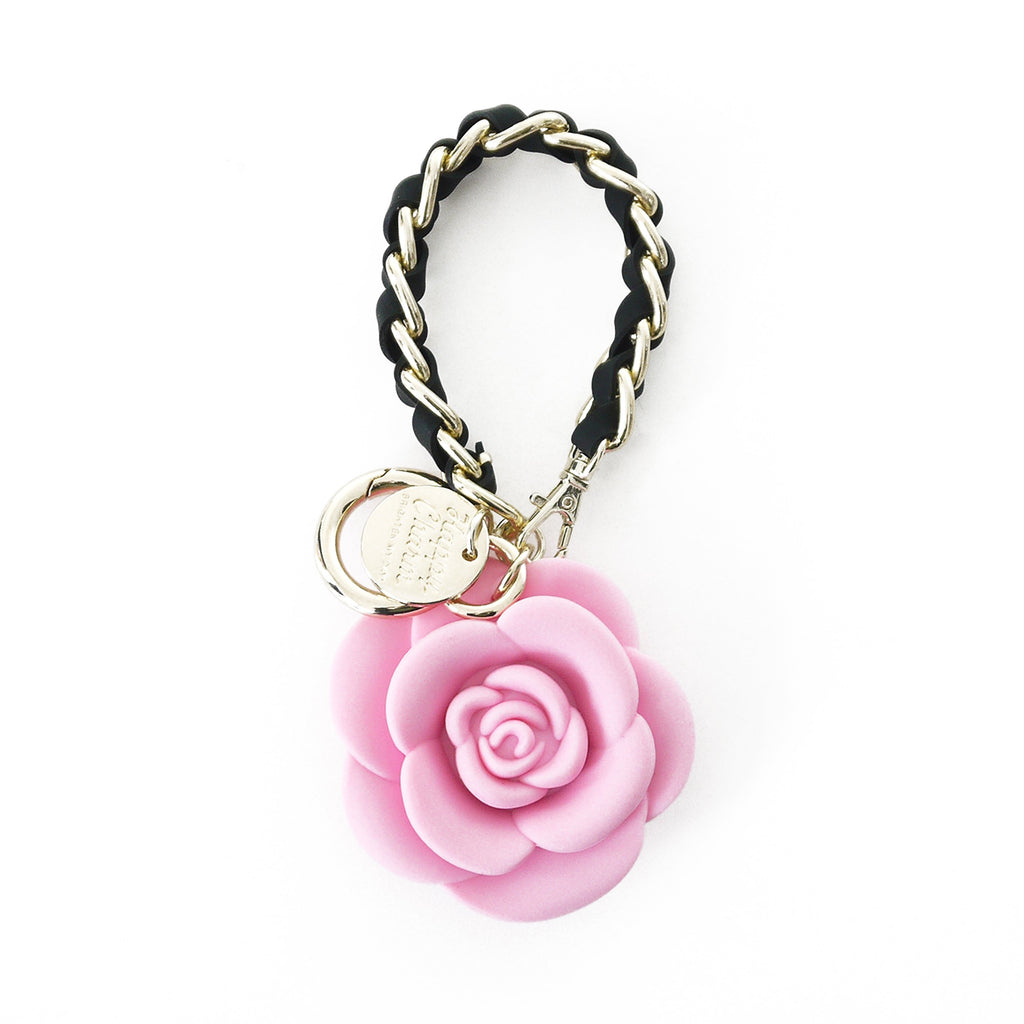 Happy Charm - Blossom Flower with Short Strap (Pink)