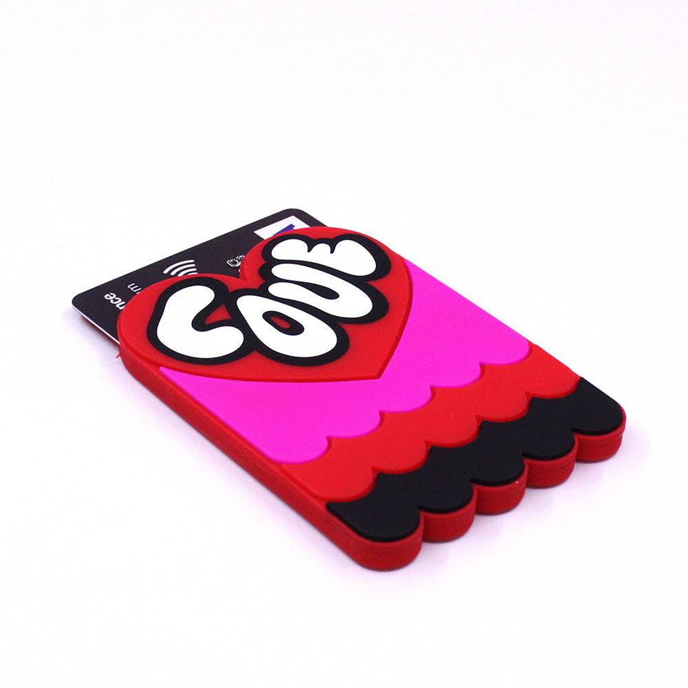 Removable Sticker Card Case - LOVE