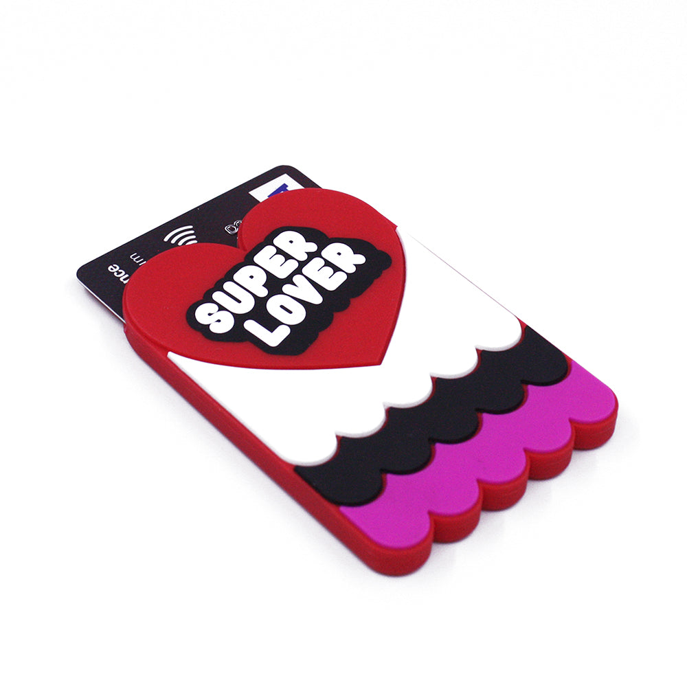 Removable Sticker Card Case - SUPER LOVER