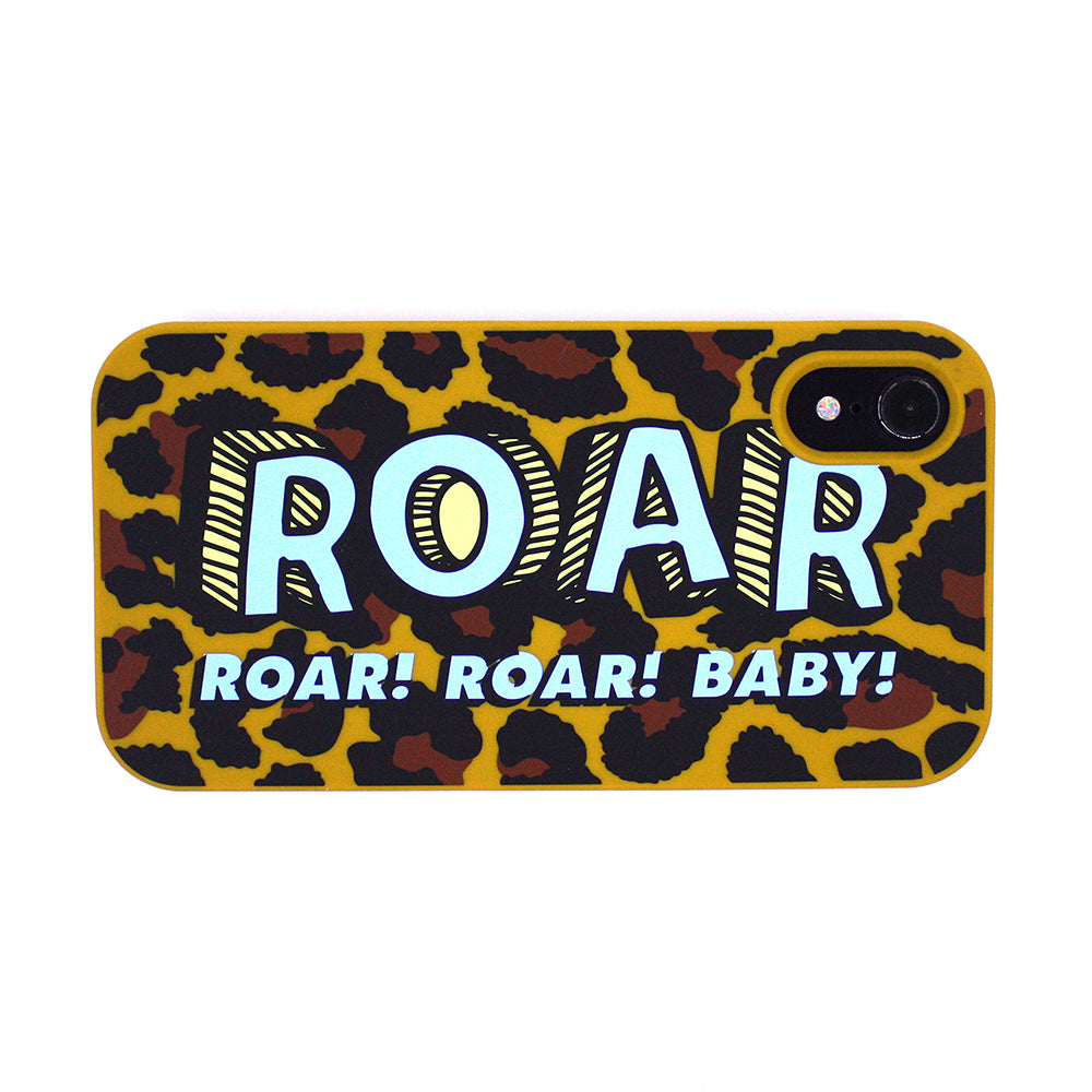 iPhone XR Simple Case - Leopard (ROAR)