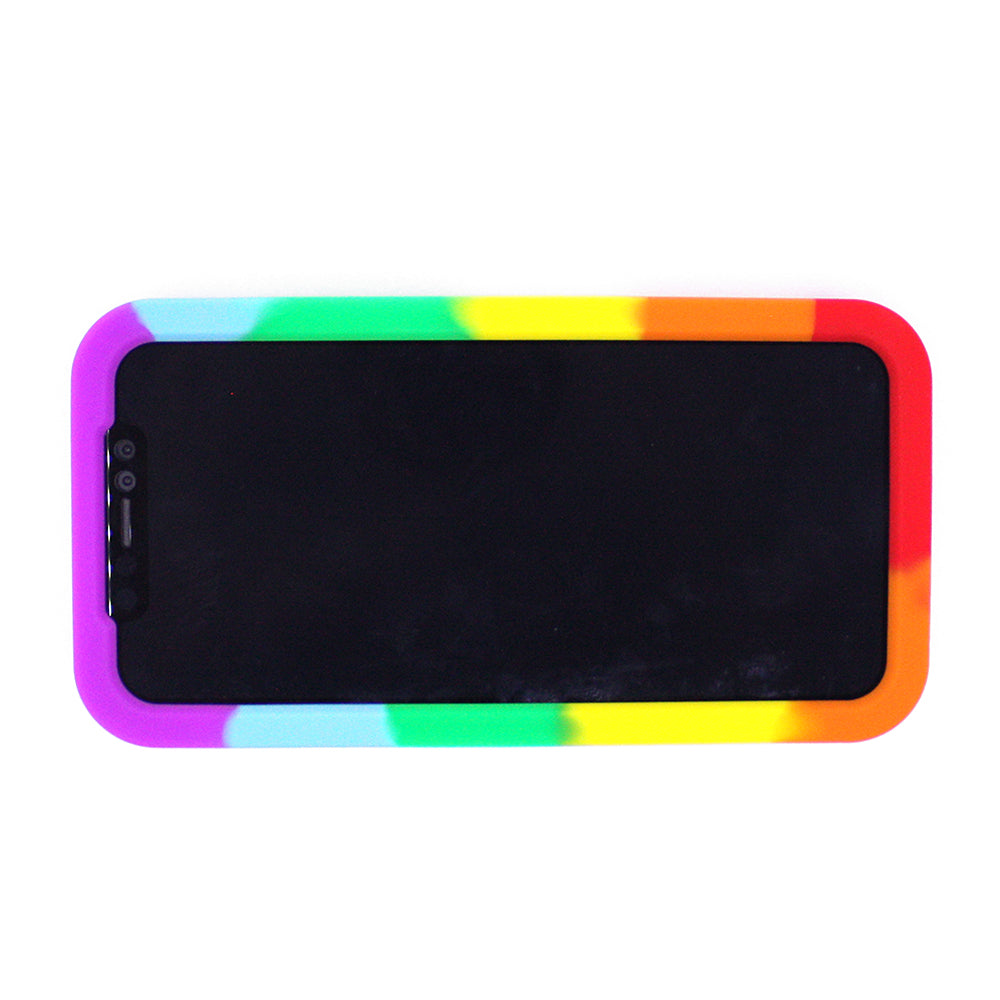 iPhone XR Simple Case - OVER THE RAINBOW