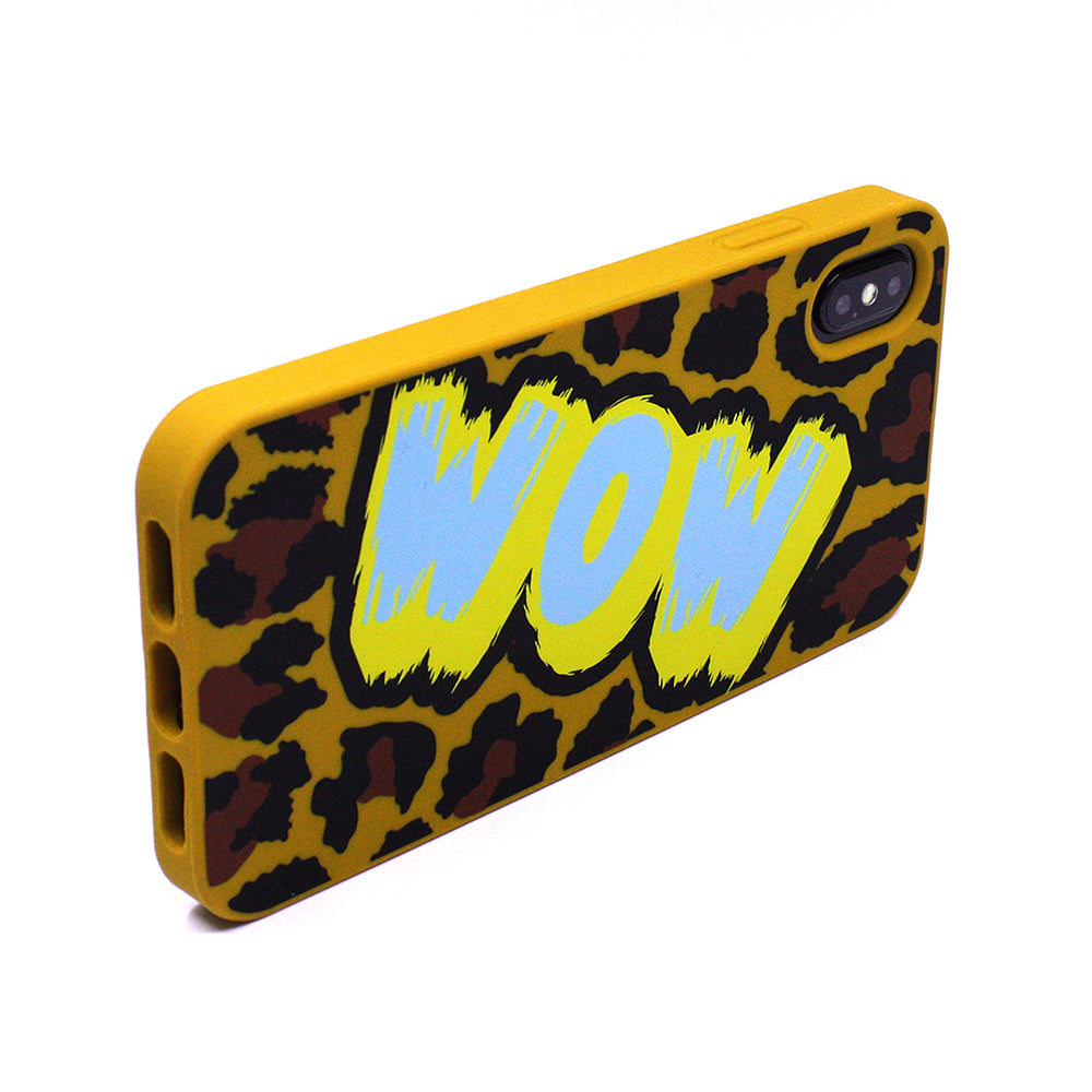 iPhone XS Max Simple Case - Leopard (WOW)