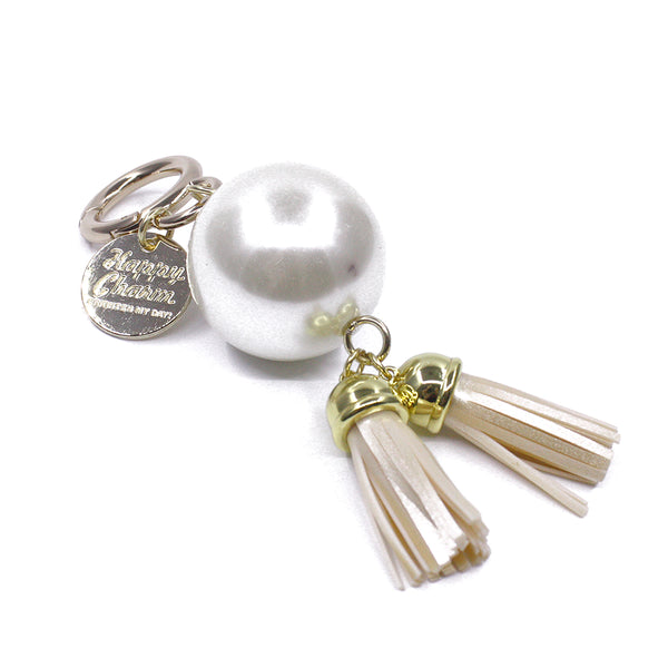 Happy Charm - Pearl and Tassel