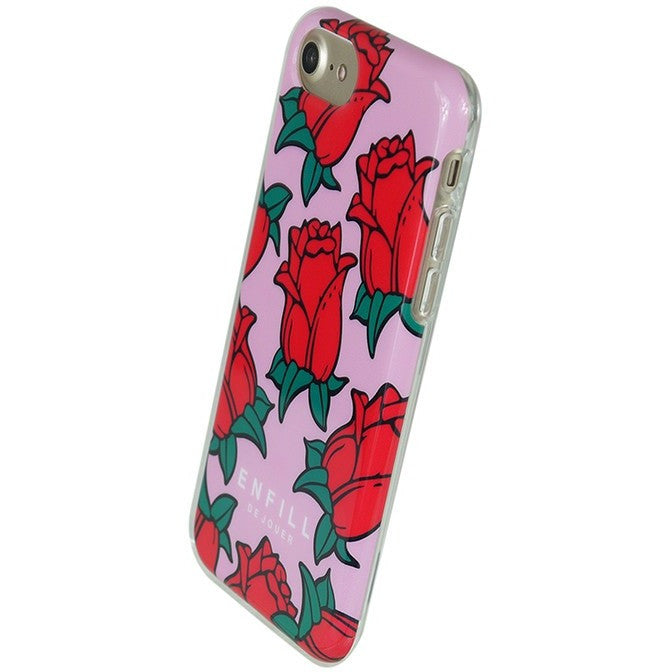 iPhone 7 - TPU CASE - Rose Love - Phone Cases - Candies Gifts
