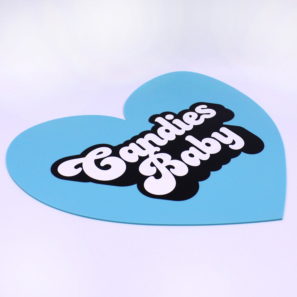 Silicone Big Heart Mat Set (Pack of 6)