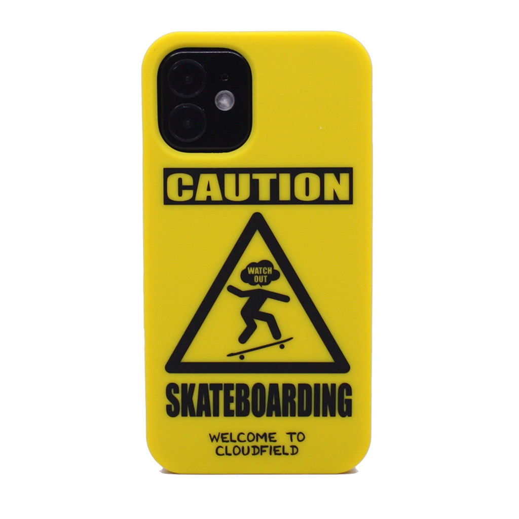 iPhone 12 Mini Simple Case - Caution Skateboarding