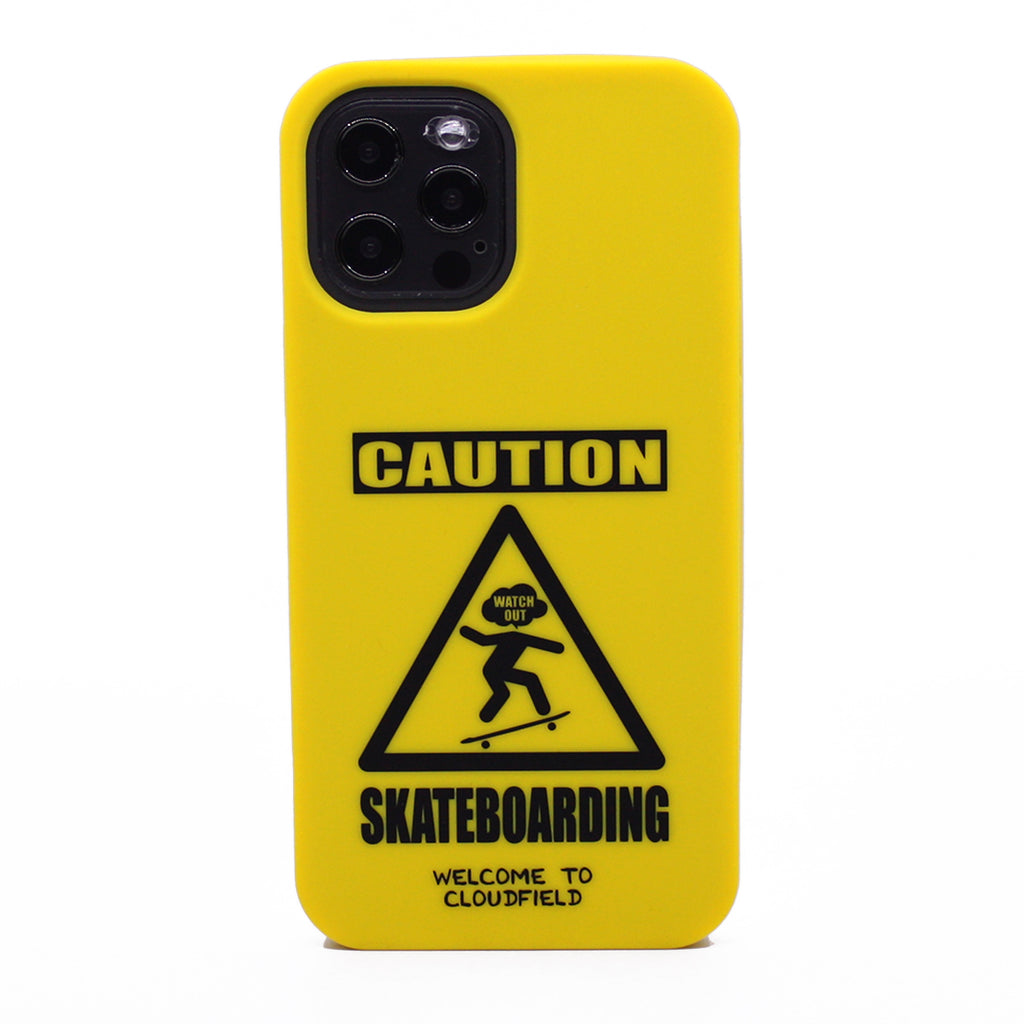 iPhone 12 Pro Max Simple Case - Caution Skateboarding