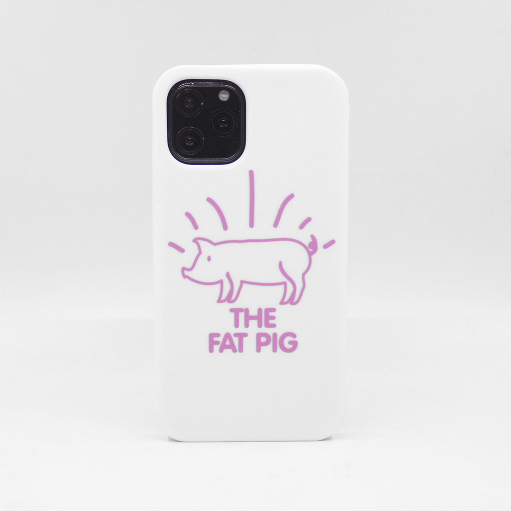 iPhone 11 Pro Simple Case - The Fat Pig