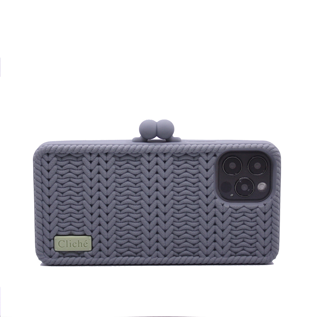 iPhone 12 Pro Knitted Case (Grey)