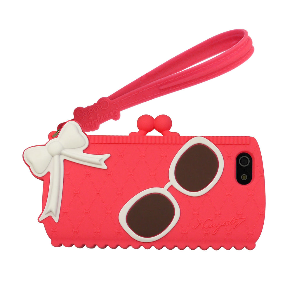 iPhone 5/5s/SE Case - Nougaty Clutch Bag Case (Pink)