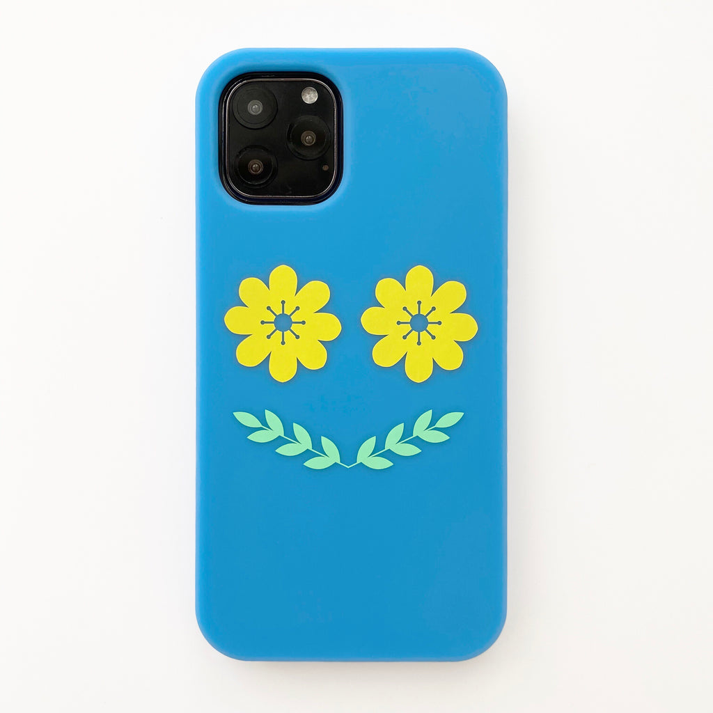 iPhone 11 Pro Simple Case - Flower Smile