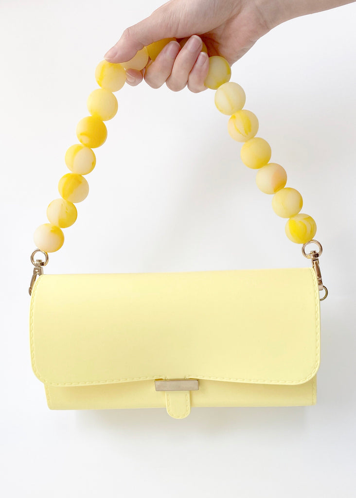 Candies Boy Bag with Marble Strap (Yellow)