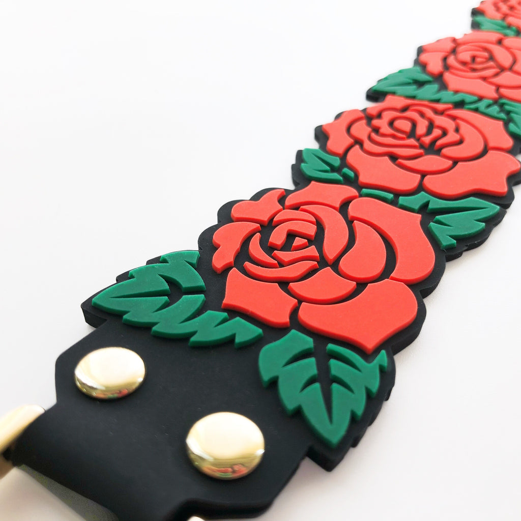 Happy Strap (Short) - Rose (Red)