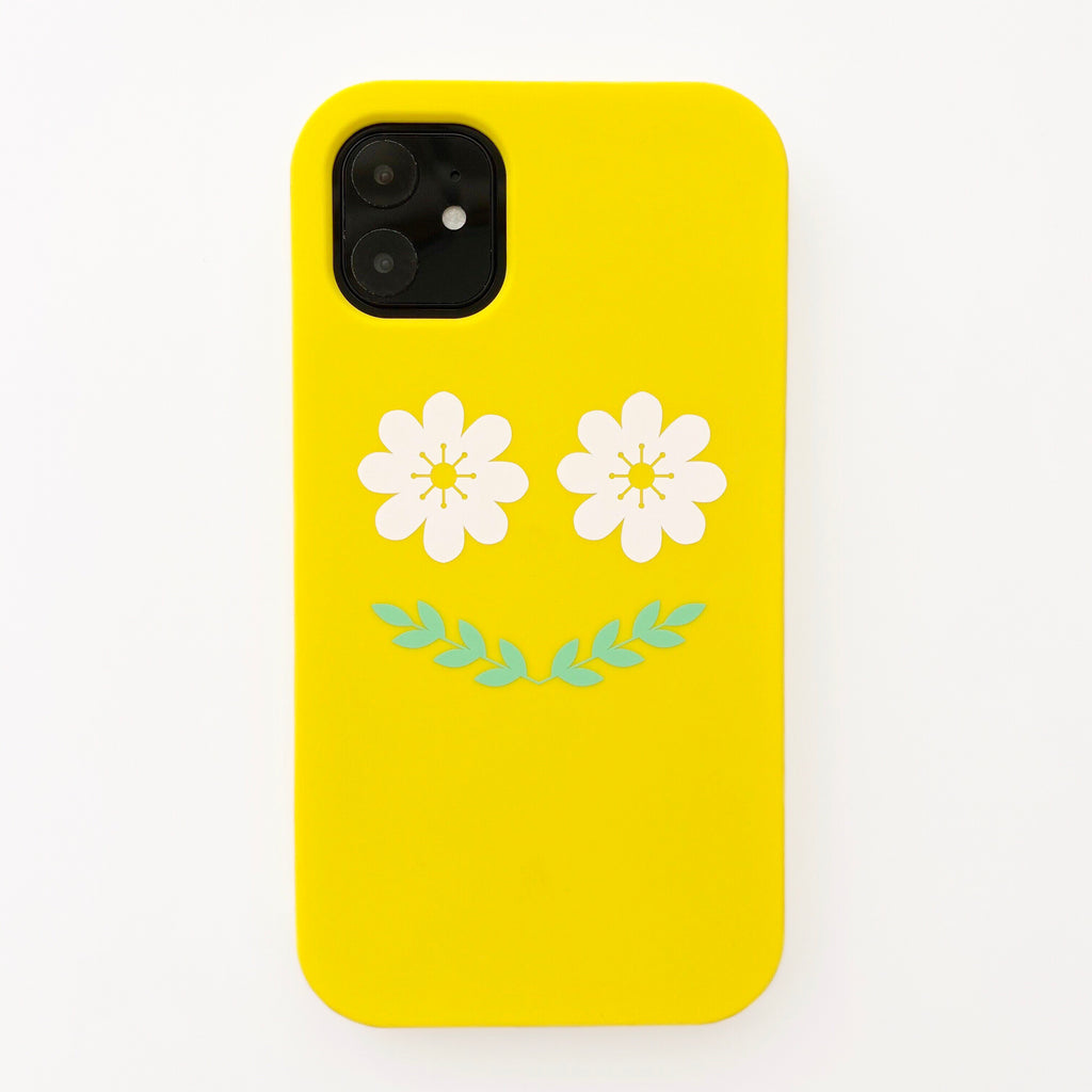 iPhone 11 Simple Case - Flower Smile
