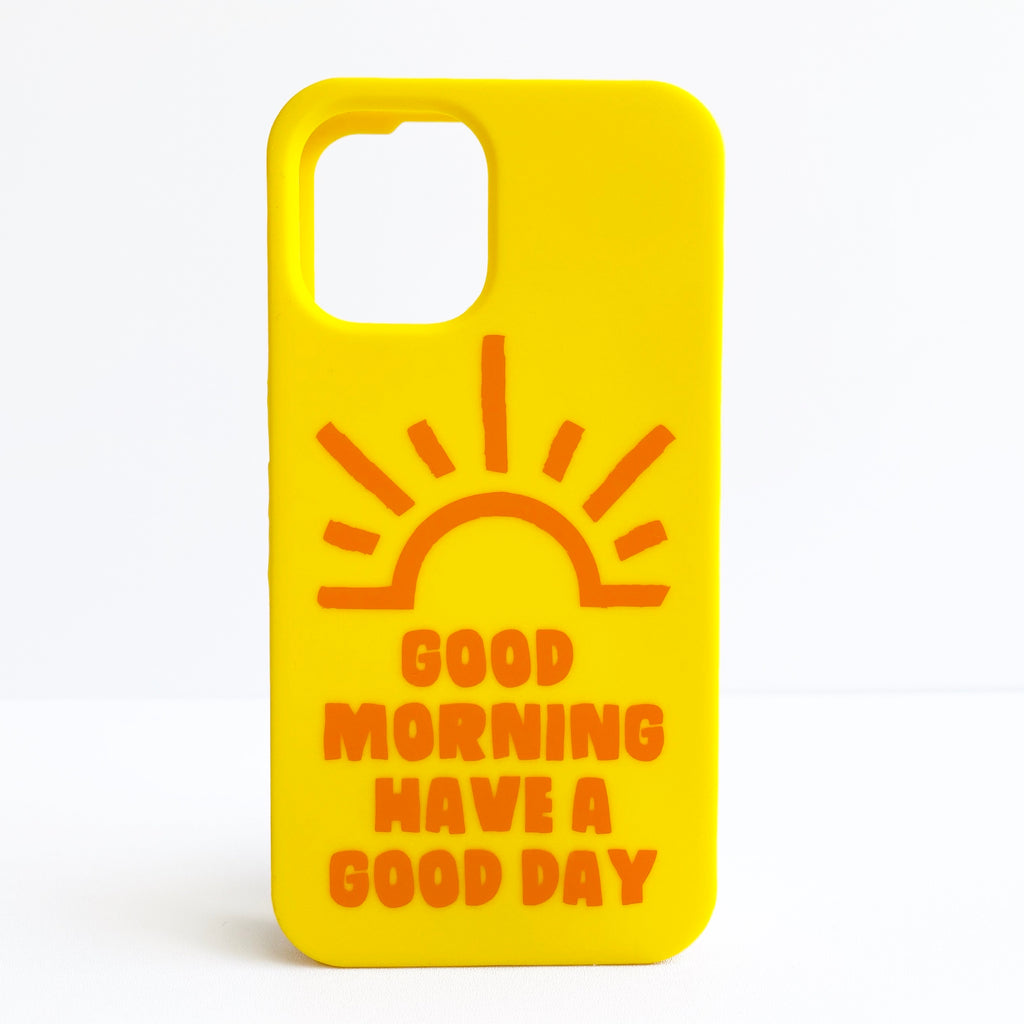 iPhone 12 Mini Simple Case - Have a Good Day!