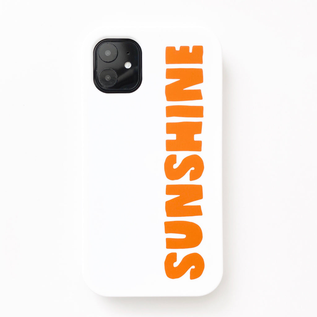 iPhone 11 Simple Case - Sunshine