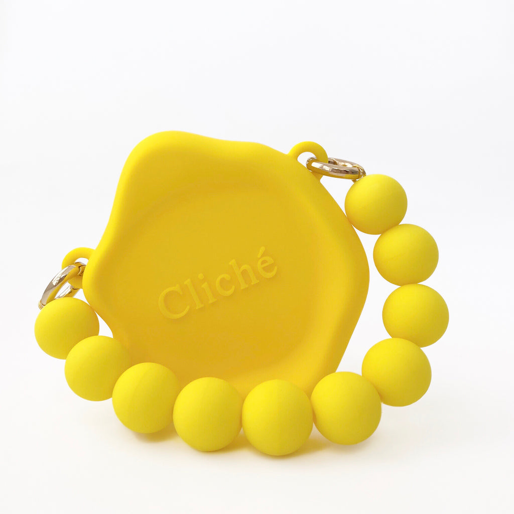 Micro Seal Stamped Bag (Yellow)